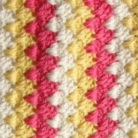 New Stitch Test - Crochet Spike Stitch
